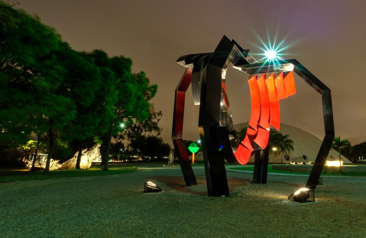 Parque Ibirapuera - Jardim de Esculturas