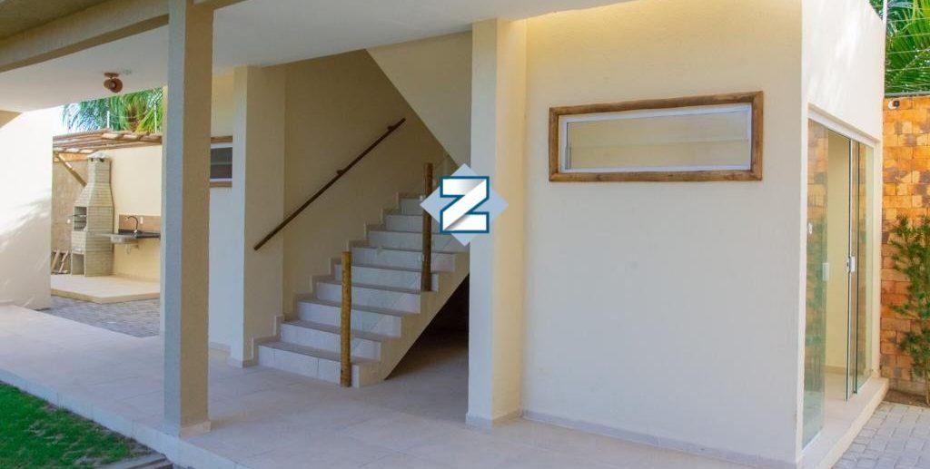 Fotografia da escada do village massagueira