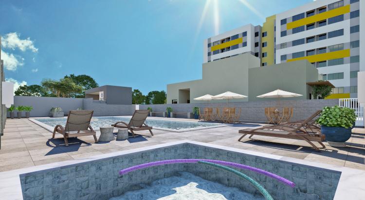Imagem da piscina do Grand Patio Residence I